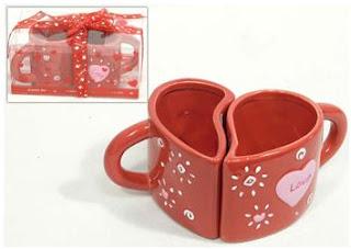 tazas para decorar en san valentin