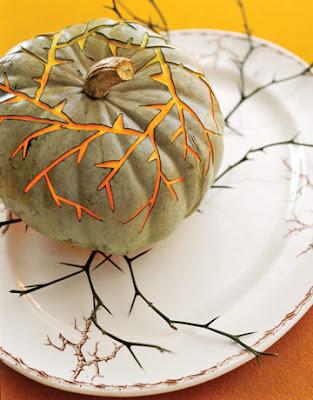 decorar para halloween con calabazas