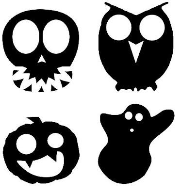 ... de halloween necesitamos también figuras o siluetas de halloween