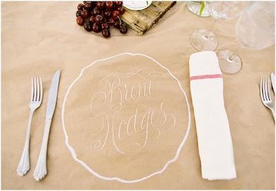 como poner el nombre de los invitados en la mesa
