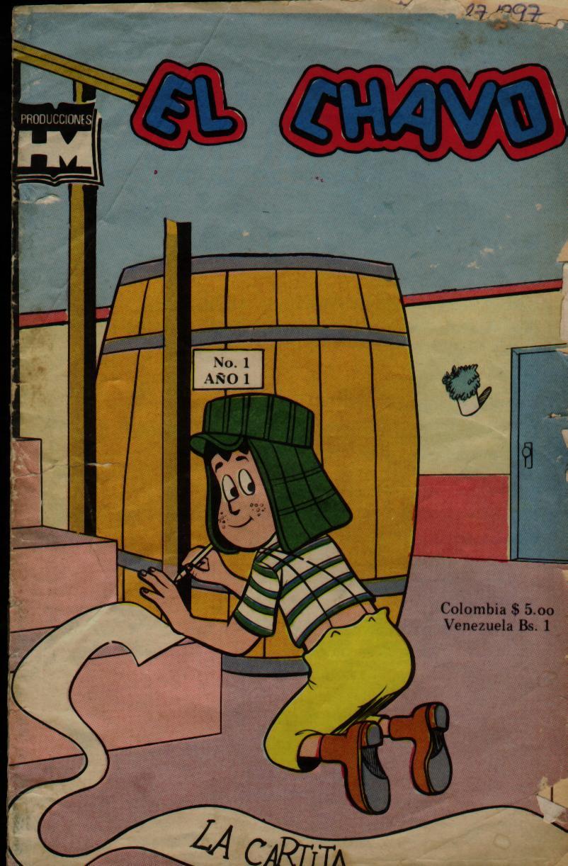 Los Comics De El Chavo Del Ocho Y El Chapul  N Colorado