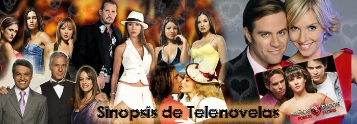 Sinopsis de telenovelas
