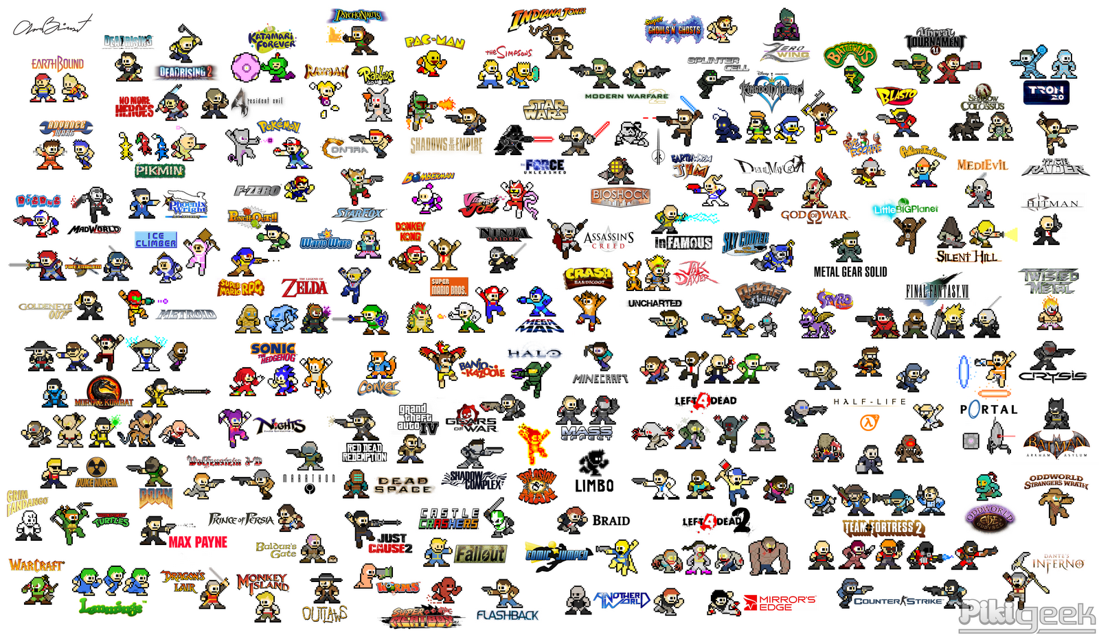 Mega Man Vs. Every Big Names (And Some Not-So-Big Ones) In Gaming
