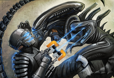 Alien Vs. Dead Space 3D