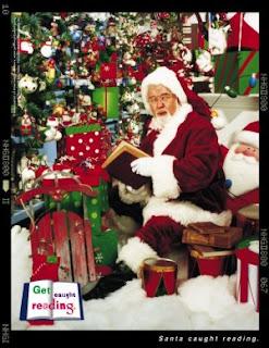 Santa Reading