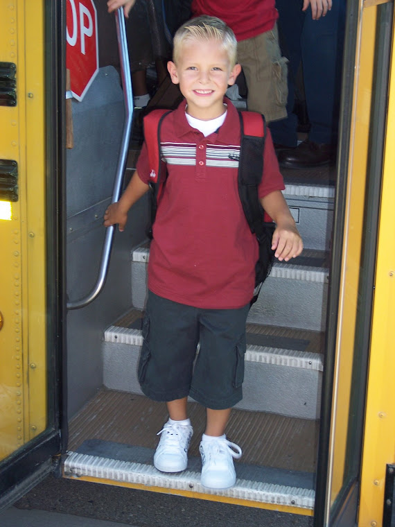Luke's 1st Day of School