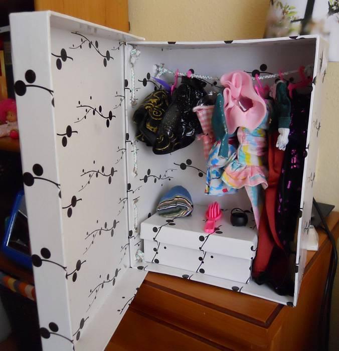 Como construir un armario para ropa de munecas - Como hacer puertas de armario ...