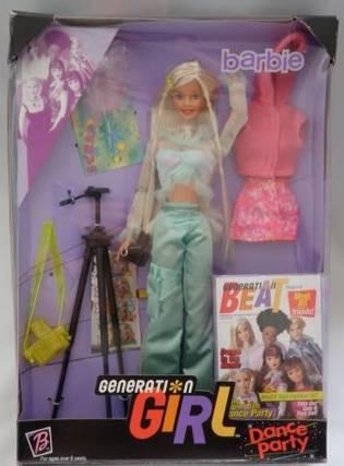 jolie inconnue Barbie+generation+girl+dance+party+1999+caja