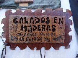 Calados en  Madera