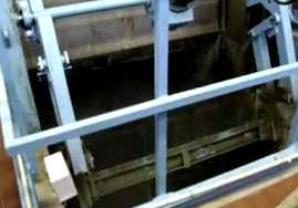wastewater treatment facility bar screens