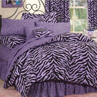 zebra print bedding add a touch of wild to the bedroom