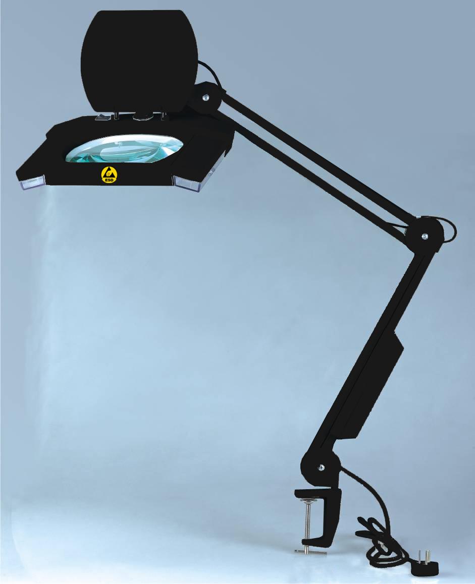 magnifying lamp. Black Bedroom Furniture Sets. Home Design Ideas