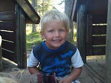 Steffen vårt eldste barnebarn