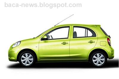 Nissan March - Spesifikasi Dan Harga Mobil Nissan March