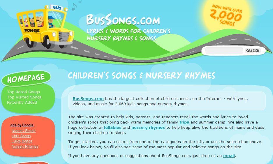ZarcoEnglish - Tool of the day: Nursery Rhymes Lyrics ...