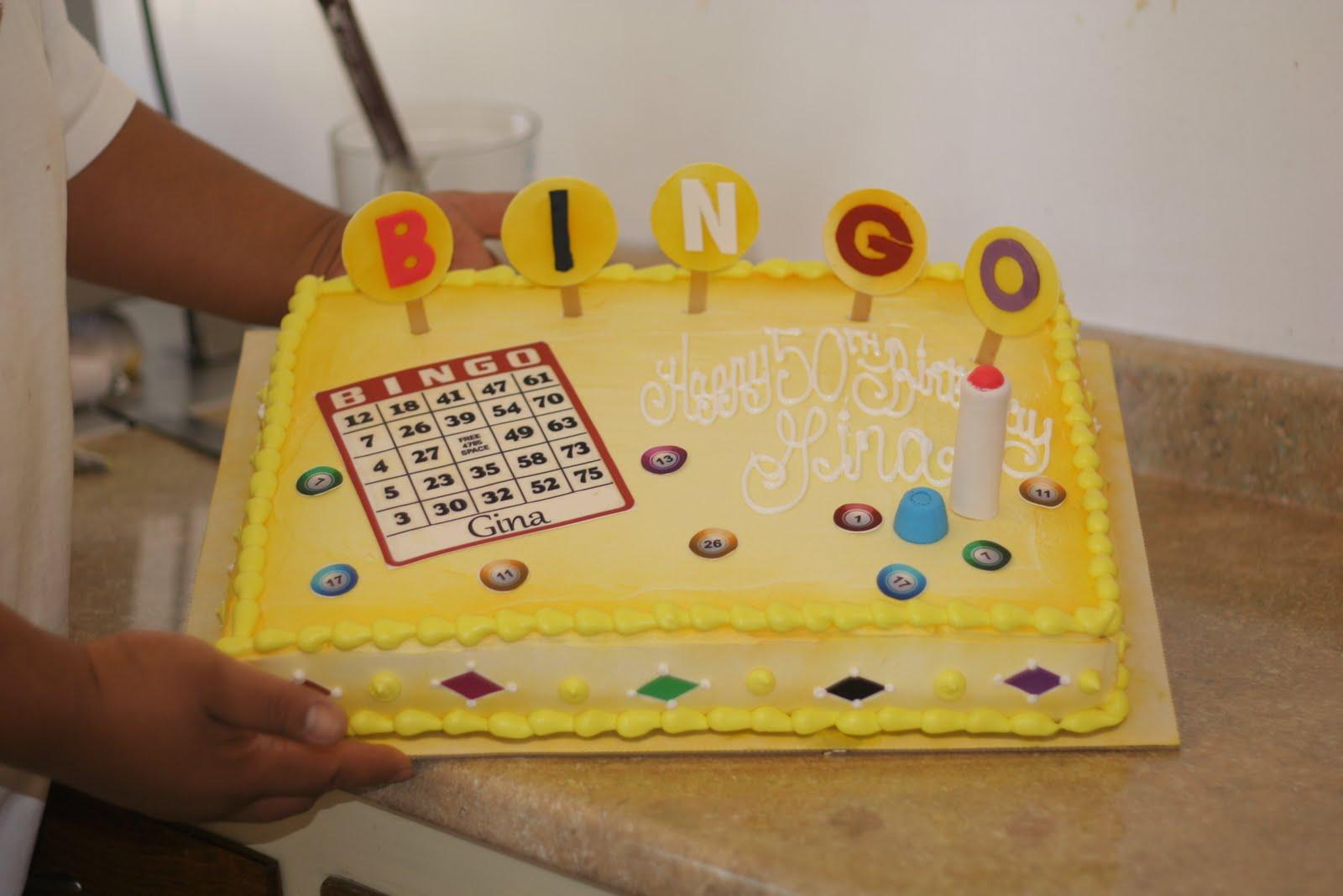 hector s custom cakes bingo cake