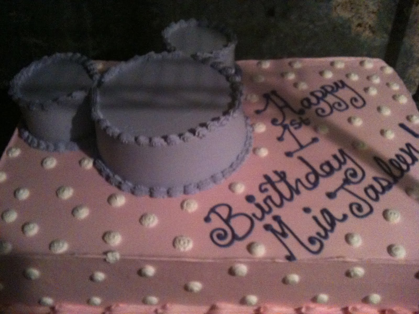 Hectors Custom Cakes Mickey Mouse Baby Shower Cake