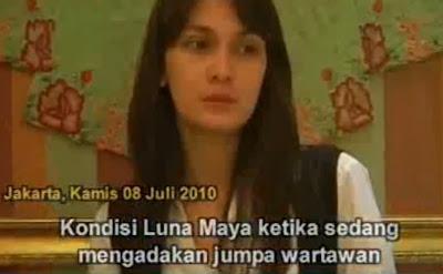 Permintaan Maaf Luna Maya