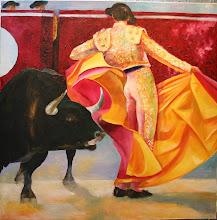 danse avec un taureau