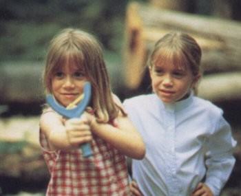 Mary Kate and Ashley Olsen Tomboy Fashion