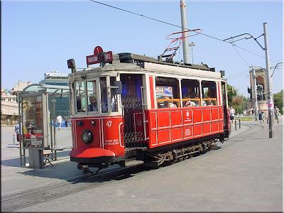 Viejo travía de Taksim