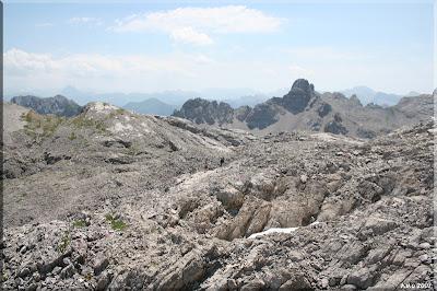 El mundo de las rocas afiladas