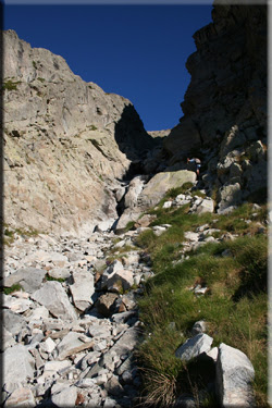 Canal en la Mallata Alta