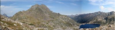 Midi d'Ossau, Pic Le Lurien y Lac d'Artouste