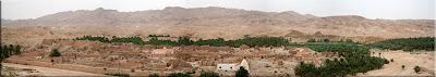 Abandonado pueblo de Tameghza