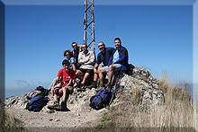 Cruz del Castillo mendiaren gailurra - 2007ko irailaren 1ean