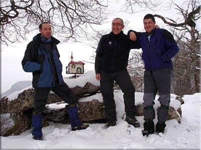 Murube mendiaren gailurra 1.128 m.  -  2010eko martxoaren 14an