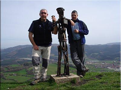 Babio mendiaren gailurra 582 m. - 2010eko martxoaren 28an