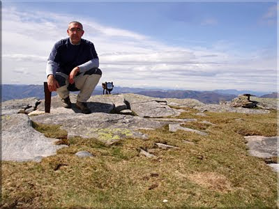 Larrun mendiaren gailurra 900 m.  -  2010eko apirilaren 2an