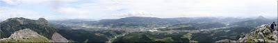 Panorámica norte de Untzillatx