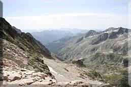Valle de Salenques desde el collado