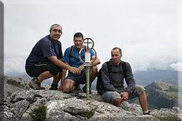 Elorretako-aitza mendiaren gailurra 1.146 m.  -  2008ko abuztuaren 23an