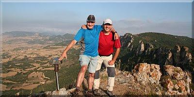 Pico del Avellano mendiaren gailurra  -  2008ko irailaren 7an