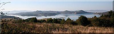 Vista del Embalse de Uribarri-Ganboa