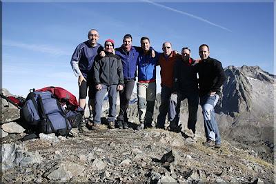 Pico de Musales mendiaren gailurra  -  2008ko urriaren 5ean