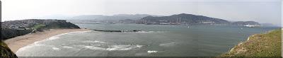 Panorámica de la costa