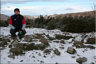 Berretin mendiaren gailurra 1.226 m. - 2010ko urtarrilaren 1ean