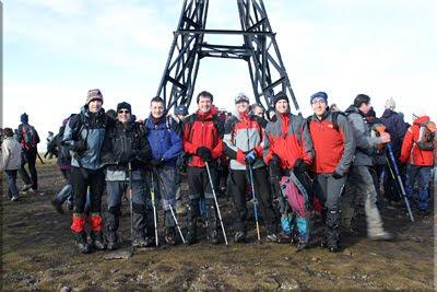 Gorbeia mendiaren gailurra 1.481 m. - 2010eko abenduaren 31ean