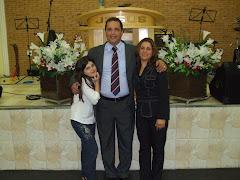 Pr. Marcelo Augusto Travagini e Wilma Souza