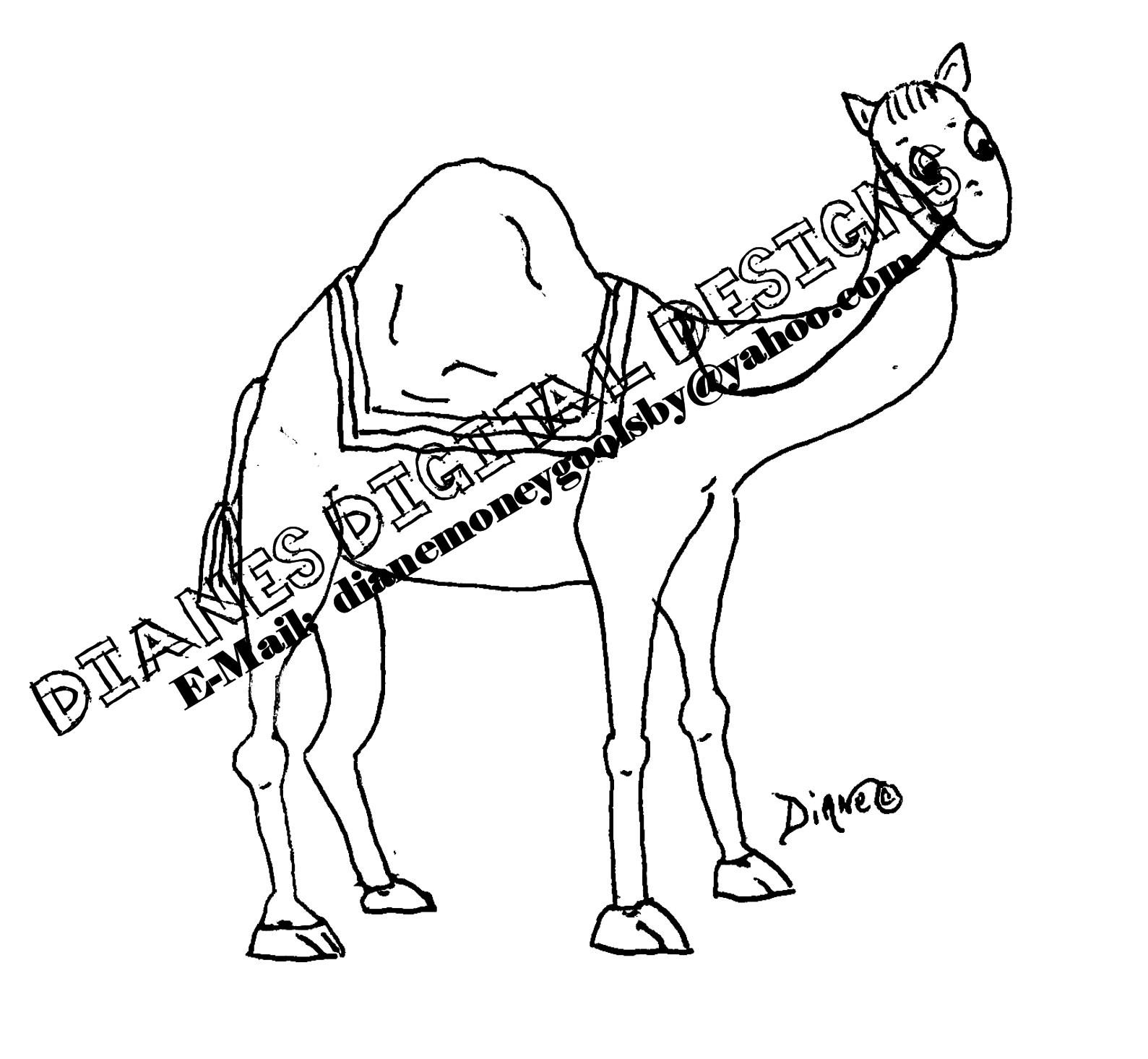 camel font