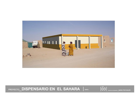 NUEVO PROYECTO DISPENSARIO ZUG SAHARA LIBERADO