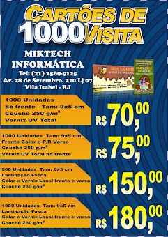 MIKTECH INFORMÁTICA                    Tel: (21) 2569-9125