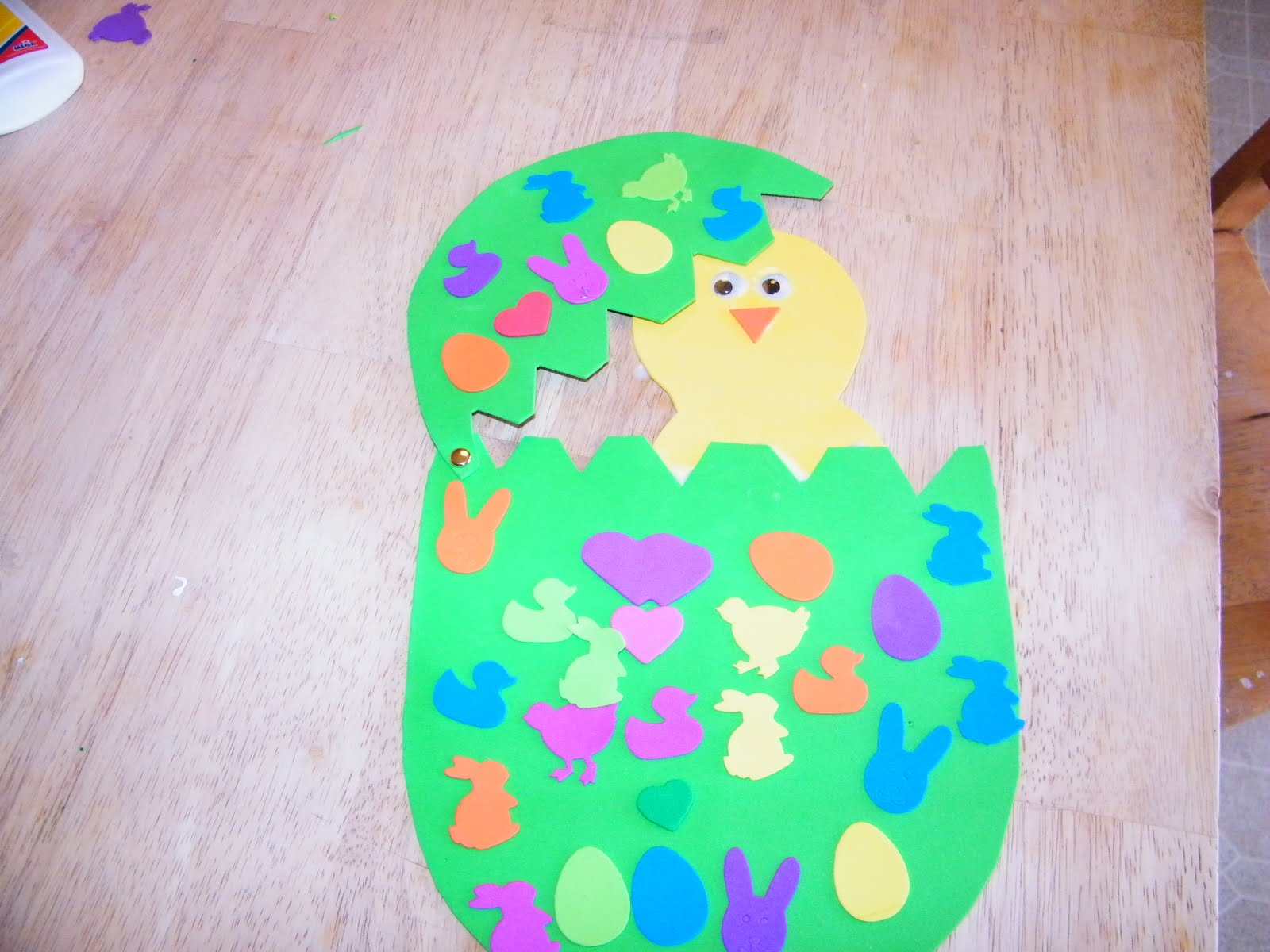 Adventures In Mommy Land One Of My Favorite Easter Spring Crafts