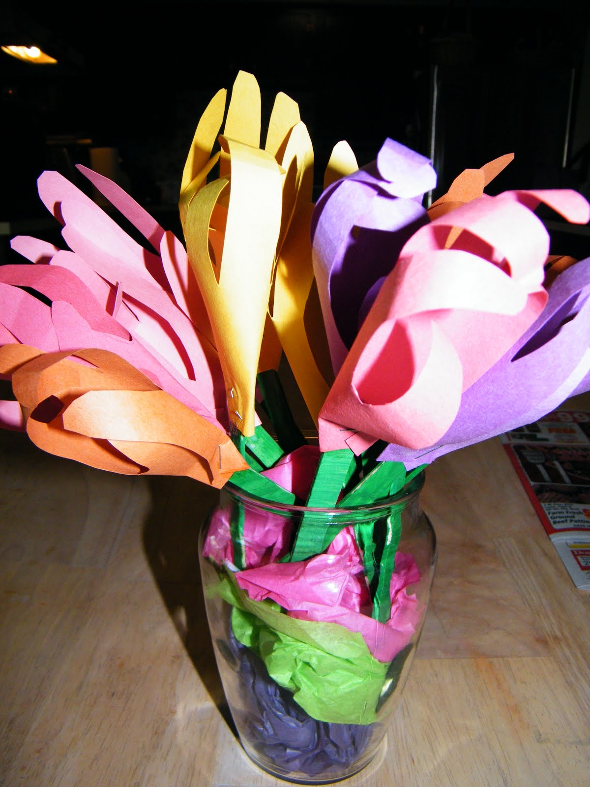 Adventures-In-Mommy-Land: Handprint Flower Bouquet (Perfect Mother\'s ...