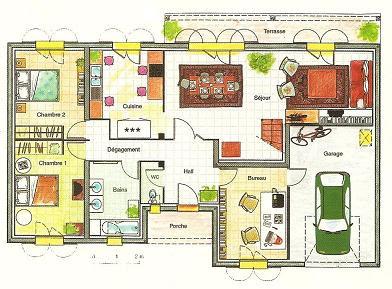 Une parisienne en galice b sico 1 description d 39 une maison - Piece de la maison en c ...
