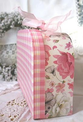 różana walizeczka